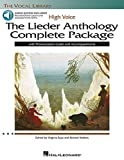 The Lieder Anthology Complete Package - High Voice: Book/Pronunciation Guide/Accompaniment Online Audio (The Vocal Library)