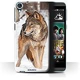 Coque de Stuff4 / Coque pour HTC Desire 820 / Loup Design / Animaux sauvages Collection