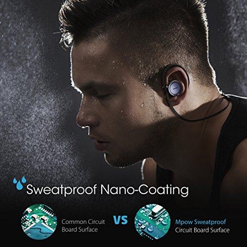 Auricolari-IPX5-Bluetooth-41-CSR-Mpow-Auricolari-Wireless-per-Sport-con-Microfono-Sweatproof-Cuffie-Bluetooth-Stereo-Auricolari-con-Ganci-Retroauricolari-per-Smartphones