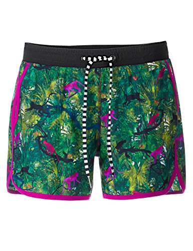Marc Cain Additions Damen Shorts GA 83.01 J04 Grün (Forest 554)