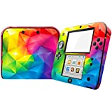 Zhhlinyuan Vinyl Decals Protective Case para Nintend 2DS Skin Sticker ZY0240