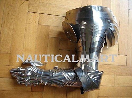 nauticalmart Renaissance Armor Pauldron, Topfhandschuh, Armour-Halloween-Kostüm