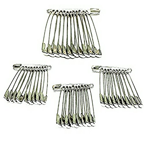 Narayana Jewellers Medium & Large Size Safety Pins for Girls and Women...