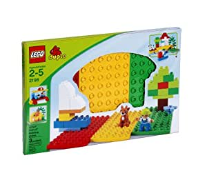 DUPLO - Jeu de construction premier âge -  Briques - Plaques de base - 3 pièces