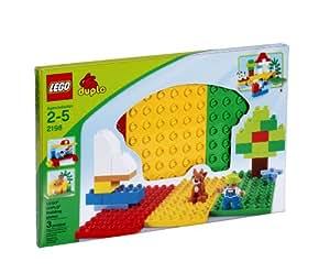 LEGO DUPLO 2198 Three Building Plates