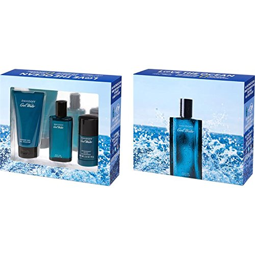 Davidoff Herrendüfte Cool Water Geschenkset Eau de Toilette Spray 75 ml + Shower Gel 150 ml + Deodorant Stick 75 g 1 Stk.