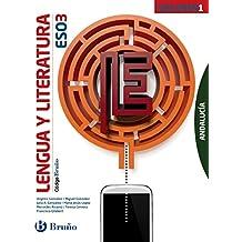 Código Bruño Lengua y Literatura 3 ESO Andalucía - 3 volúmenes - 9788469612682