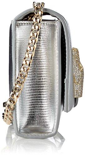 CAVALLI CLASS - Rsvp Treasure, Borse a spalla Donna Argento (Silver)