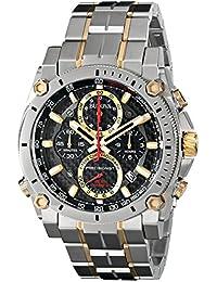(CERTIFIED REFURBISHED) Bulova Precisionist Analog Black Dial Men's Watch - 98B228