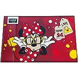 Encubierto MIN P3100 - escritorio del cojín de Disney Minnie Mouse, alrededor de 59 x 39 cm, de color rojo