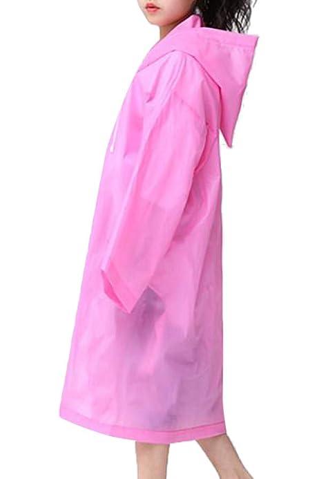 Roroyi Unisex Outdoor Travel Fashion Regenmantel f/ür Erwachsene Dicker transparenter EVC-Regenmantel Wiederverwendbare 1-Pack-Regenmantel-Regenjacke mit Kapuze und /Ärmeln