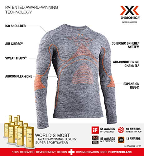 X-Bionic Energy Accumulator 4.0 Melange Shirt Round