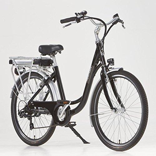 Vélo électrique Ville Linaria Noir-36 V - 11 Ah