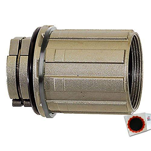 Novatec Freilaufkörper f. Shimano Typ A2 8-11-fach 326292 + SCHLAUCHFLICKEN - Freilaufkörper Shimano 11-fach