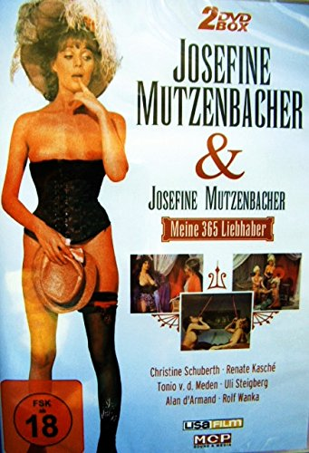 JOSEFINE MUTZENBACHER Collection : Josefine Mutzenbacher + Meine 365 Liebhaber 2 DVD Box