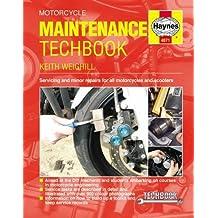 Motorcycle Maintenance Techbook (Haynes Service and Repair Manual Series)