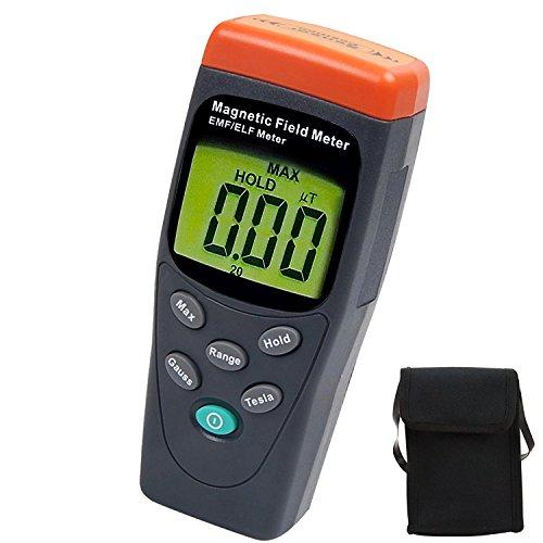 HandHeld Digitale EMF / ELF 30Hz zu 300Hz (mG) (μT) Einachsiger Digitaler Gauss Meter Tester Detektor (Strahlung Der Frequenz Meter)