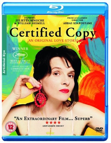 Certified Copy [Blu-ray] [UK Import]