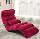 2 Pack, Faltige Faule Sofa Boden Stuhl Couch Betten Gaming Lounge Stuhl Einstellbar Mit Kissen Home Linving Zimmer Japanische Sofa Möbel
