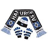 Winterset Schal Mütze Handschuhe Gr. L Hamburger SV HSV