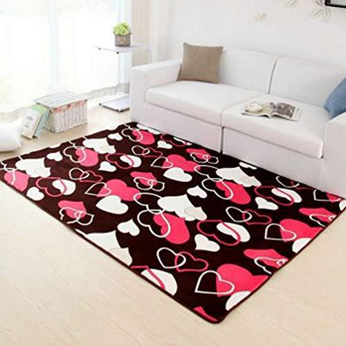 Feidaeu Teppiche Wohnzimmer große 160x230cm Schlafzimmer nachttisch couchtisch Decke rutschfeste saugfähige Boden teppiche
