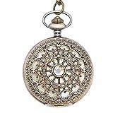 Vintage Brass Mechanical Pocket Watch Necklace - 81stgeneration - amazon.co.uk