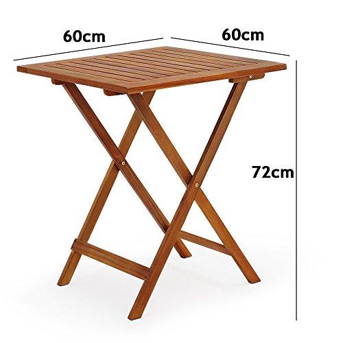 Gartenmöbel Set aus Holz