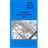D-Day 40/18 NW St Aubin - Sword & Juno Beaches 1944 1 : 25 000: Militärhistorische Landkarte (D-Day Maps)