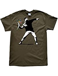 Flower Thrower Banksy T-Shirt