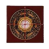 MagiDeal Professionelle Feng Shui Kompass Luo-Pan mit Schmuckkasten Set