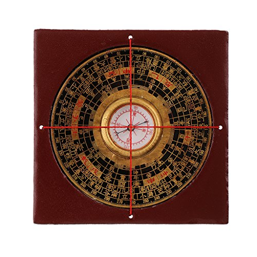 MagiDeal Professionelle Feng Shui Kompass Luo-Pan mit Schmuckkasten Set fca79fcc463