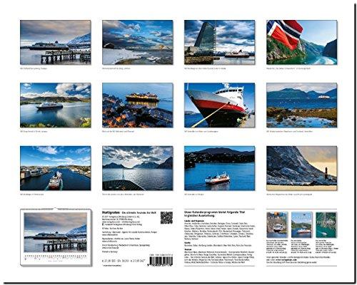 HURTIGRUTEN - Die schönste Seereise der Welt: Original Stürtz-Kalender 2018 - Großformat-Kalender 60 x 48 cm: Alle Infos bei Amazon