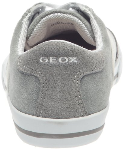 Geox JR Club Boy, Schnürschuh Jungen Grau