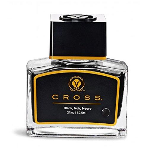 Cross 8945S-2 - Frasco de tinta para pluma estilográfica, color negro