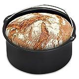 Monzana® Brotbackkorb für Heißluftfritteuse 1,6 Liter Heißluft Fritteuse Heißluftofen