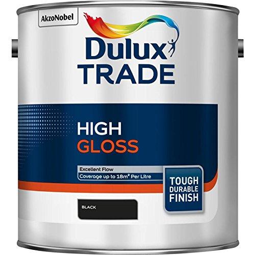 dulux-trade-high-gloss-paint-black-25l