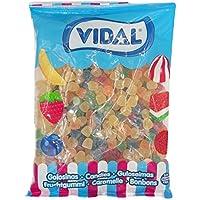 Vidal Gomitas Azúcar Golosina - 1000 gr