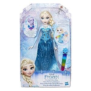 Frozen - Figura Destellos Brillantes Elsa de Frozen (Hasbro B6163EU40)