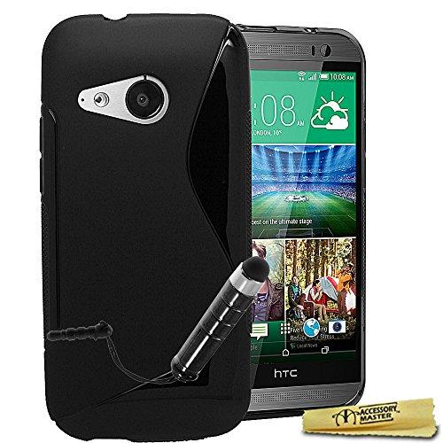 Accessory Master Handyschale, Rückseitenschutz, Silikongel, mit Stylo für HTC One Mini 2, M8