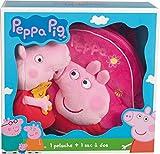 Jemini–022919–Peppa Pig–Geschenkbox und Rucksack Plüsch