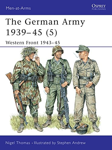 The German Army 1939-45 (5): Western Front 1943-45: Western Front, 1944-45 v. 5 (Men-at-Arms) por Nigel Thomas