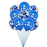 Wholesale1X Balloons, Creative Designs, Stage Pendants and Props for Various Occasions. Different Styles of Space Astronaut Rocket-Themed Balloons, Children