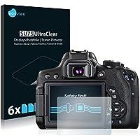 Canon EOS 750D Pellicola Protettiva [6 Pack] Protezione Proteggi Schermo