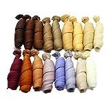 Fully 3stk. Puppen-Perücke Haarteil Haarperücke 15 X 100CM/5.9 X 39 Kostüm für Puppen DIY...
