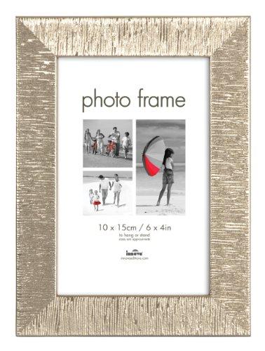 SET 12 Stk Innova Fotorahmen WATERFORD (3793-12)-13x18 cm Silber Decor-Gesamtgröße 18x23x1,4 cm-Stilrahmen Portraitrahmen Bilder-Rahmen Zinn-Decor