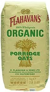Flahavans Organic Oats, 1 kg