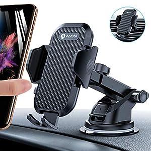 andobil Handyhalter fürs Auto Handyhalterung Lüftung & Saugnapf Halterung 3 in 1 Universale KFZ Handyhalterung Smartphone Halterung für iPhone11/ 11 Pro/Samsung Galaxy Note10/S10/HUAWEI Xiaomi LG usw