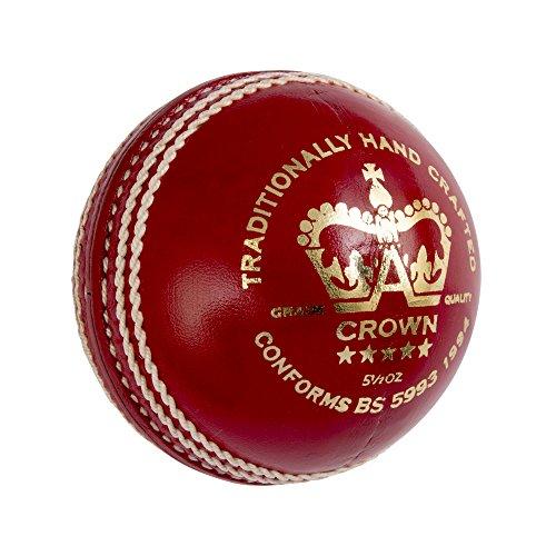GRAY-NICOLLS Krone 5Star Cricket Ball 5.5oz, weiß