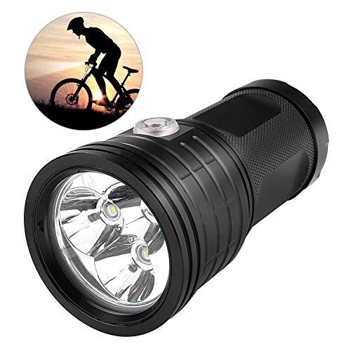 LED-Taschenlampe, taktische Taschenlampe mit Aufladungsschatz im Freien wasserdichtes Bergsteigen Wandern kampierende Jagd hohe helle Energie-weit reichende Aluminiumlegierungsfackel für USB(# 2) -