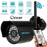szsinocam 1/4' CMOS IP Cámara H.264 720P Inalámbrica Wifi CCTV ONVIF Impermeable Visión Nocturna Detección de Movimiento Seguridad de Hogar